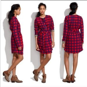 ACE & JIG Gingham Check Buffalo Plaid Dress